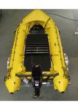 Aqualand 17feet 5.3m Hypalon Inflatable BoatかRescue Rubber Boat (aql530)