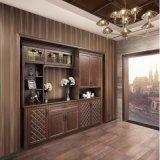 Governo decorativo di legno del salone antico di Oppein (ZS21419)