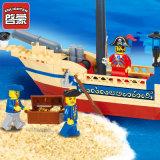 Heiße Verkauf Educatonal Piraten-Lieferung blockt Spielzeug für Kinder