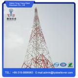 Гальванизированный 4 ножками Телекоммуникационная башня / угол стальной башни