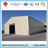 Costruzione strutturale d'acciaio prefabbricata ben progettata della tettoia del gancio