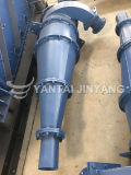 Separador de la arena del hidrociclón, diseño del hidrociclón de la reducción para el proceso de separación mineral