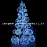 Свет рождественской елки СИД напольный гигантский