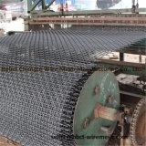 Квадратная ячеистая сеть Weave плетения провода гофрированная для минирование