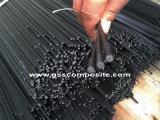 Pultruded en fibre de carbone des tiges solides contiennent du fil de cuivre