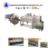 Swsf590 krimpt de Automatische Hitte van de Flessen van de Alcohol Verpakkende Machine