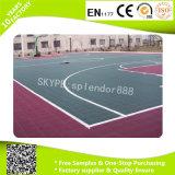 PPのバスケットボールコートのための屋外の連結のプラスチック床タイル