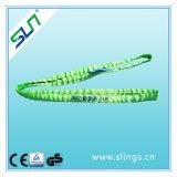 5:1 2tx1m de facteur de sûreté 100% courroies de levage sans fin de polyester