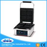 certificat CE carré électrique plaque unique machine à gaufres