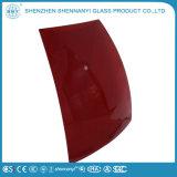 Incurvé décoratifs en verre trempé spécial pour les panneaux solaires