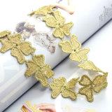 금 색깔 Handmade 크로셰 뜨개질 꽃 여자 숙녀를 위한 Collier Femme Jewellery 간단한 숨막히게 하는 것 목걸이