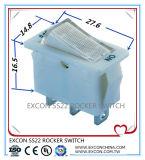 Excon interruptor impermeable interruptor de balancín Ss22 interruptor de balancín del barco