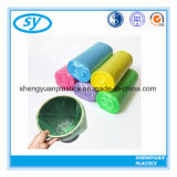 HDPE Zakken van de Druk van de Douane van de Kleur van het Huisvuil de Duidelijke Plastic Vlakke