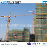 Grue à tour de la marque Qtz50-4810 de Katop pour le chantier de construction