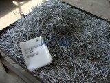 Unhas trançado com arruelas de metal e plástico para a África do Sul