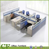 Sitio de trabajo de aluminio de los cubículos del perfil de los muebles de oficinas del ahorro de espacio de los CF
