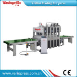 Shortcycle Hot Press Machine pour placage, Honeycomb