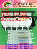 2200ml CISS (d'encre continu du système d'alimentation) / Système d'encre en vrac / Cartouche d'encre rechargeables pour EPSON STYLUS PRO 7700 9700 7890 9890 7900 9900 Imprimante grand format