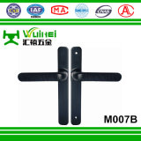 Maniglia di alluminio del doppio della finestra di scivolamento e della serratura di portello senza tasto (M007B)