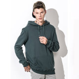 BaumwollMens Hoodie Qualitäts-Grün-Pullover Hoodie