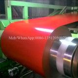 Il colore di Aluzinc ha ricoperto la bobina d'acciaio galvanizzata