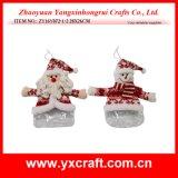 Décoration de Noël (ZY14Y165-1-2-3) PVC/PET/PP fenêtre en plastique Sac de bonbons de la décoration de Noël