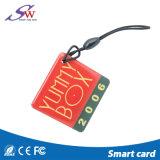 13.56MHz S50 o logotipo de Impressão CMYK chaveiro epóxi de RFID