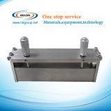 調節可能な幅のマイクロメートルのフィルムのアプリケーター0 - 150のmm (フィルムの鋳造のドクター・ブレード)、SeKtq 150A