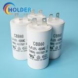 금속을 입힌 폴리프로필렌 필름 AC 모터 축전기 (CBB60 805j/450V) 시작 축전기