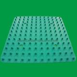 Ugello di spruzzo rotondo della testa di acquazzone della gomma di silicone