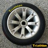 """Pneumático contínuo do pneu da espuma da borracha/Pneumatic/PU com roda plástica 10 """" 12 """" 14 """" 16 """" 20 """""""