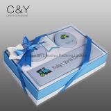 Напечатанная бумажная коробка Keepsake младенца с смычком тесемки
