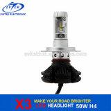 Van de LEIDENE van de Auto van de Ventilator van de Spaander van Philips X3 Bol de Lichte AutoKoplamp van Delen