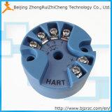 Transmisores de temperatura de protocolo de 4-20mA PT100 Hart