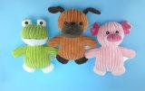Krokodil-Spielzeug für den Hund, der mit drei Farben spielt