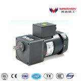 Motor de la CA Indution de Wanshsin 220V 50Hz 60W con la caja de engranajes