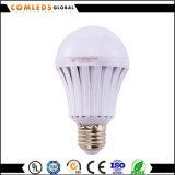 Iluminação Emergency do bulbo do diodo emissor de luz 220V do plástico interno E27