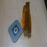 1 interruttore di membrana impermeabile di gomma chiave con il pannello di controllo della tastiera della cupola del metallo