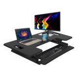 La elevación del gas de Jn-Ld02-L ergonómica se levanta el escritorio ergonómico negro del ordenador del escritorio