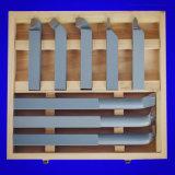 Conjunto de ferramentas de torneamento de carboneto para torno