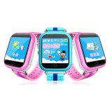 Reloj elegante del bebé Gelbert-Elegante de Q750 Q100 GPS con la localización de la llamada de la pantalla táctil 1.54inch SOS