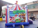 تجهيز خارجيّة قابل للنفخ, ملعب خارجيّة قابل للنفخ يثب قصر لأنّ أطفال