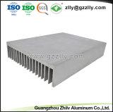 금속 부속 건축재료 알루미늄 밀어남 방열기