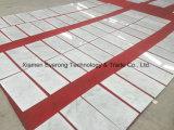 床の装飾のための24X24インチの自然で白い大理石のタイル