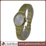Luxuxquarz-Frauen-Uhr-Entwerfer-leuchtende Frauen-Armbanduhrrhinestone-Dame-Form-Uhr