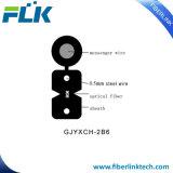 FTTH 옥외 광섬유 하락 케이블 숫자 8 편평하 강철 철사