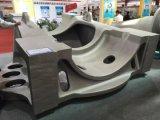 La pieza de acero fundido de bastidor de inversión parte la pieza grande de la pieza de acero fundido