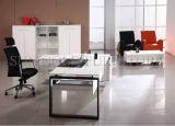 Mobília de escritório moderna da placa de partícula, mesa de escritório, pés de aço (SZ-OD188)