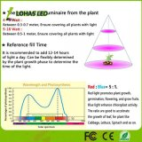 A cor 3 Vermelho-Azul-Violeta que muda a barra clara 12W 13.5W do diodo emissor de luz cresce a câmara de ar leve para a planta