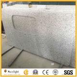 Cheap G655 de granito gris claro vanidad Top/Encimeras de baño